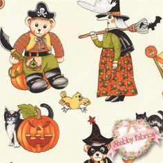 Trick or Treat by RJR Fabrics http://www.shabbyfabrics.com/Trick-or-Treat-0306-01-RJR-Fabrics-P6149.aspx?categoryid=56