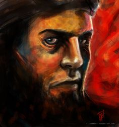 Determination by e-guerrero on DeviantArt Deviantart, Painting, Warriors, Paintings, Painting Art, Painted Canvas