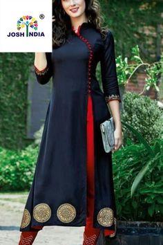 Latest Designs Navy blue  color Plain  Kurty for WomenFor order Whatsapp us on +91-9662084834#Designslatest #Designspartywear #Neckdesignsfor #Sleevesdesignfor #Designslatestcotton #Designs #Withjeans #Pantsdesignfor #Embroiderydesign #Handembroiderydesignsfor #Designslatestparty wear #Designslatestfashion #Indiandesignerwear #Neckdesignslatestfashion #Collarneckdesignsfor #Designslatestcottonprinted #Backneckdesignsfor #Conner #Mirrorwork #Boatneck Latest Kurti Design INDIAN DESIGNER LEHENGA CHOLI PHOTO GALLERY  | I.PINIMG.COM  #EDUCRATSWEB 2020-07-08 i.pinimg.com https://i.pinimg.com/236x/48/b4/3d/48b43d03ce52458f9e45da63fb89e120.jpg