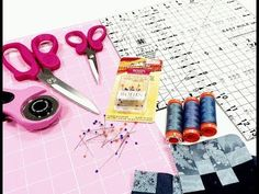 Lezione Patchwork, Taglio e Attrezzatura Base - YouTube Patchwork Tutorial, Hobby, Video, Applique, Quilting, Youtube, Fat Quarters, Jelly Rolls, Youtubers