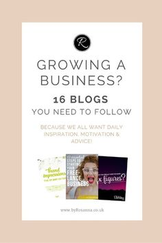 16 epic business bloggers you should be following for all things business, blogging and marketing related! Seriously, these ladies and #girlbosses are legendary...