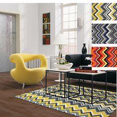yellow rug?