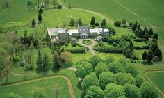 North Wales Farm Warrenton, Va. Size: 38,500 square feet, 22 bedrooms, 16 bathrooms  Year built: 1776  Price: $22.95 million