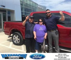 Congratulations Ben on your #Ford #F-150 from Justin Bowers at Waxahachie Ford!  https://deliverymaxx.com/DealerReviews.aspx?DealerCode=E749  #WaxahachieFord