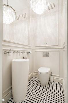 Elegancja na Powiślu - Mała łazienka, styl glamour - zdjęcie od EG projekt - homebook