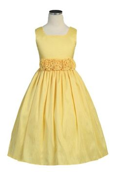 Yellow Flower Girl Dress and maybe a blue too. So they don't look exactly the same