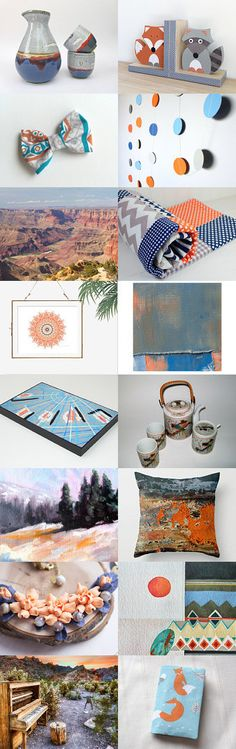 Southwest Feel by Angie Hale on Etsy--Pinned+with+TreasuryPin.com