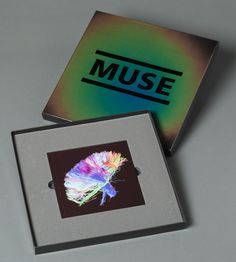 Muse's 2nd Law album cover. Creative Review - Record sleeves of the month. I have this version of the album – the heat sensitive packaging is very cool!