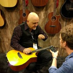 Frank Gambale talks about his new Cort acoustic.