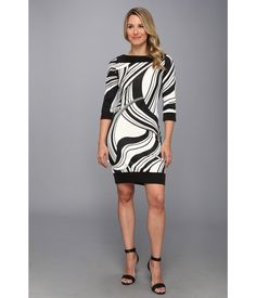 Work it with a blazer at the office or stilettos at happy hour in this well-rounded sheath dress....