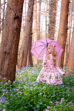 Sweet lolita  ☆星の降る森☆ : Photo