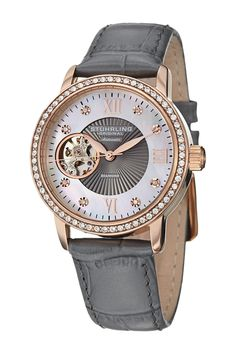 Stuhrling | Women's Memoire Diamond Automatic Watch | Nordstrom Rack