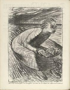 Ernst Barlach. For Whom Time is an Eternity (Wem Zeit wie Ewigkeit) - 1916