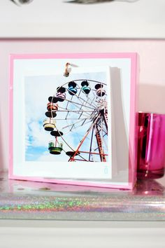 Meninices da Vida: DIY Porta Retrato Polaroid || Pinterest Inspired