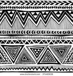 Tribal Pattern Lizenzfreie Bilder und Vektorgrafiken kaufen ...