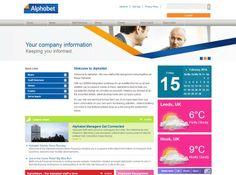 Alphabet Friday News, Ui Design, Alphabet, Concept, Culture, Alpha Bet, User Interface Design
