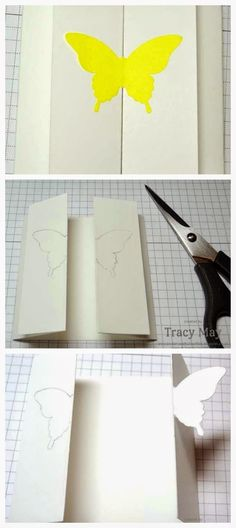stampin up elegant butterfly closure card tutorial Tracy May Independent demonstrator
