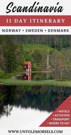 Scandinavia itinerary - plan your trip to Norway, Sweden and Denmark with this 11 day itinerary for your trip to Scandinavia via @untoldmorsels