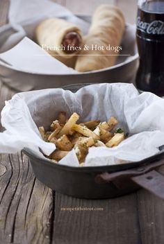 French fries & Hot dogs _ Mon petit bistrot