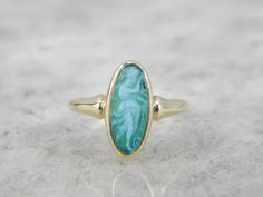 Antique Dancing Muse Green Stone Cameo Ring H6WUA9-D by MSJewelers on Etsy https://www.etsy.com/listing/125405653/antique-dancing-muse-green-stone-cameo