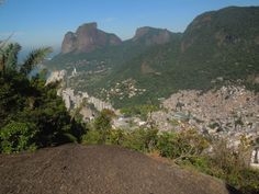 Hike up Dois Irmãos (the Two Brothers Mountain in Vidigal) and get one of the best views of Rio de Janeiro! The starting point is just 30min from Ipanema...
