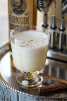 Use your KitchenAid® Precise Heat Mixing Bowl to make Homemade Eggnog from @wanderlustkitch on our blog.