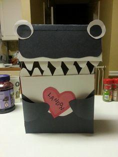 Killer Whale Valentine's Box.