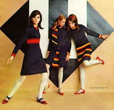 60s And 70s Fashion, Mod Fashion, Teen Fashion, Vintage Fashion, Fashion Outfits, Womens Fashion, Fashion Trends, Colleen Corby, Patti Hansen