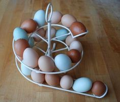 For our ever growing stock of eggs!