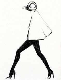 Garance Dore fashion illustration