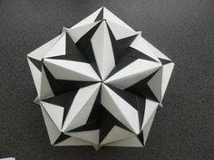 origami - modular - kusudama - ciclone (Tadashi Mori) - tutorial - dutchpapergirl - YouTube