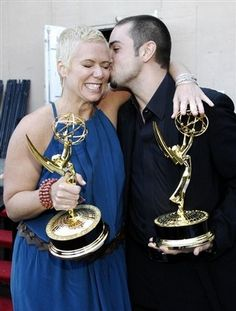 Choreographers Mia Michaels & Wade Robson....my faves!