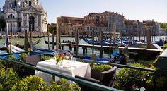 Imagine having dinner here.  Well, one can dream... The Westin Europa, Venice.