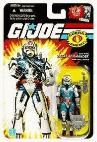 Hasbro G.I. Joe Cobra Commander With Armor Action Figure Toy by Hasbro. $12.84. Articulated Action Figure. bendable / poseable figure. From the GI Joe Series. In 1982 Hasbro introduced a new line of products that changed the landscape of boys action figures: G.I. JOE A REAL AMERICAN HERO . which quickly became one of the most memorable toy lines of the 1980s.
