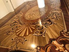 Wood Parquet, Parquet Flooring, Wooden Flooring, Hardwood Floors, Marble Interior, Arch Interior, Woodworking Projects Diy, Wood Projects, Flooring For Stairs