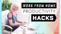 8 Productivity Hacks to SLAY Working From Home // tips to stay focused for photographers and creative entrepreneurs