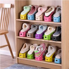 Shoes Rack Pack) One day you are in a hurry because you're going to be late at work, but you can't find the other pair of your shoes. Organize your shoes with this Shoes Rack, and you will never… Continue Reading → Shoe Organizer, Closet Organization, Organizing Shoes, Organization Ideas, Diy Shoe Rack, Shoe Storage For Boots, Shoe Storage In Wardrobe, Shoe Racks For Closets, Entryway Ideas Shoe Storage
