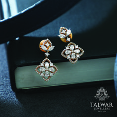 Diamond Tops, Diamond Rings, Diamond Jewelry, Gold Jewelry, Jewellery, Talwar Jewellers, Gold N, Gold Earrings Designs, Pen Sets
