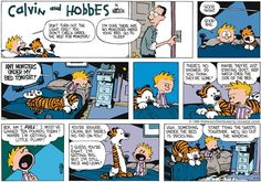 Calvin and Hobbes Comic Strip, September 18, 2016     on GoComics.com