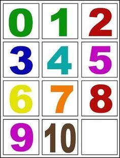 Numbers Preschool, Free Preschool, Math Numbers, Preschool Worksheets, Preschool Classroom, Toddler Learning Activities, Preschool Activities, Kids Learning, Montessori Math