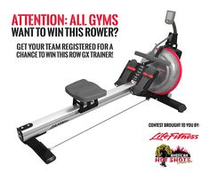 Sign up for the November 14th Mud Run and register your team for an opportunity to win a GX Trainer rowing machine! #mudrun #fitness #giveaway