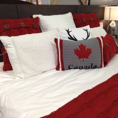 Canada Day bedding i