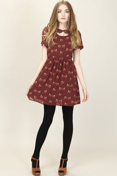 Awesome foxy dress <3