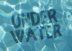 """What You'll Be CreatingWater can make for such beautiful, inspiring visuals! In this tutorial, we'll take some text and visually """"place it"""" underwater—creating a wavy text effect, looking down and. Photoshop Text Effects, Photoshop Photos, Photoshop Design, Photoshop Photography, Photoshop Tutorial, Photoshop Actions, Adobe Photoshop, Graphic Design Tips, Graphic Design Branding"""