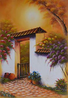 imagenes de paisajes para pintar faciles - Dibujos para colorear Paisajes 39 imágenes. Educima