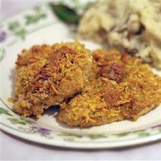 Breaded Parmesan Ranch Chicken Allrecipes.com