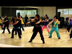 Zumba Warm Up: It goes around the World...La La La La La La! Rachel Leader - YouTube