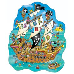 Pirates preschool / praatplaten kleuters pirates