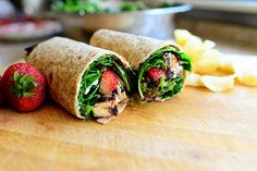 Grilled Chicken  Strawberry Wrap by Ree Drummond / The Pioneer Woman