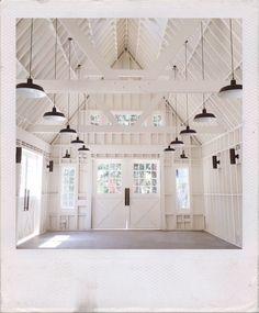 clean minimalist barn